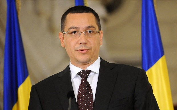 In U-turn decision, Romania's PM Ponta says he favors shale gas exploration