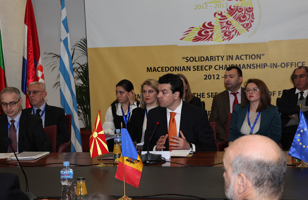 Foreign ministers of SEECP meet today in Ohrid