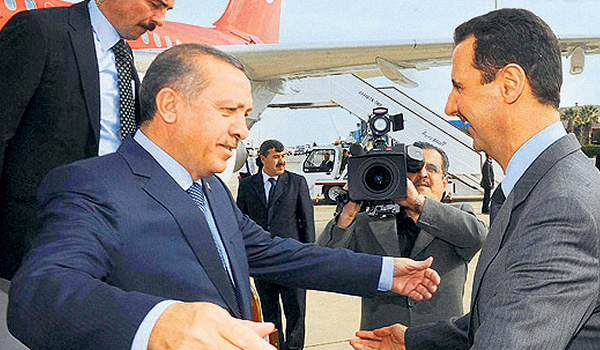 Ankara concered by developments in Syria