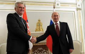 Serbia and Russia strategic partners