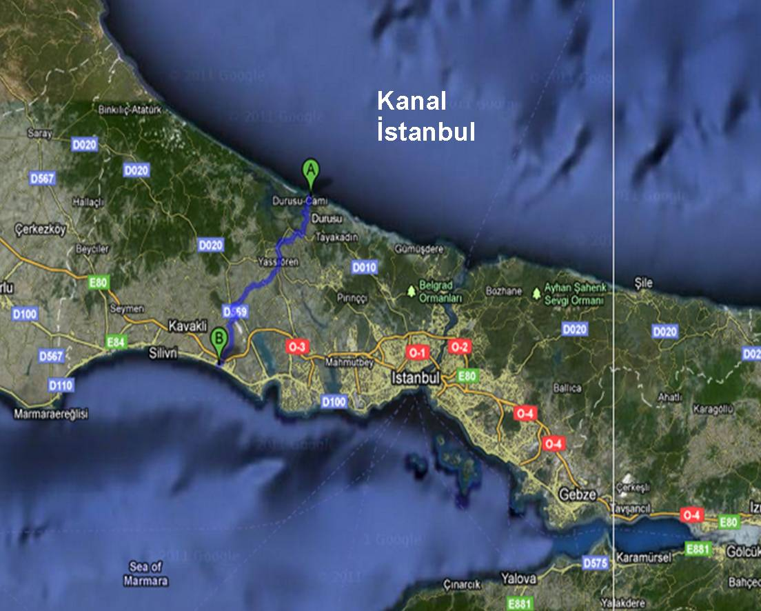 Erdogan: We will construct the Kanal Istanbul.