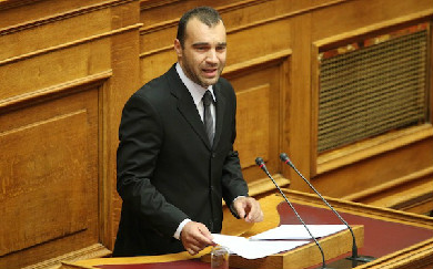 Golden Dawn MP ejected from Parl't for cursing