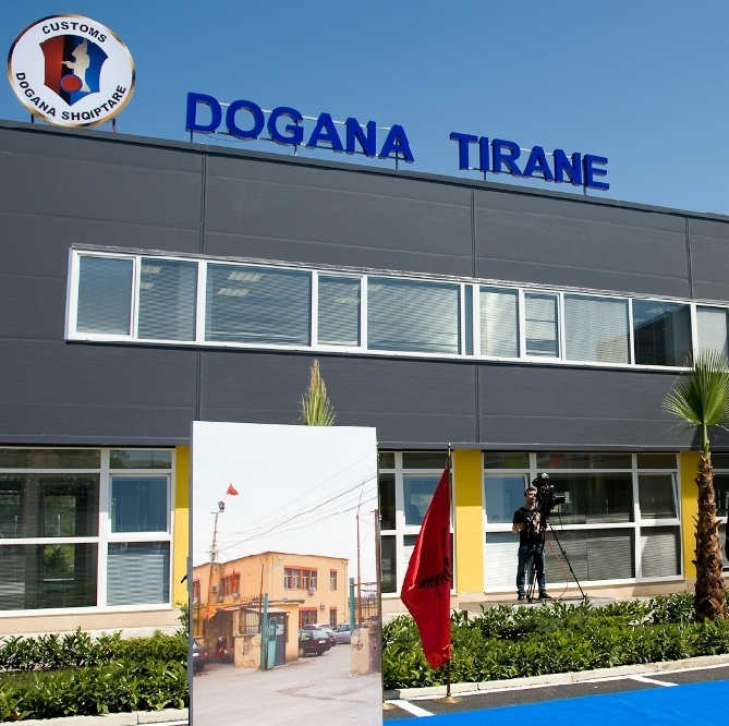 European Union funds the improvement of standards of the Albanian Customs