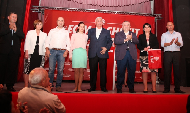 Head of the Socialist Movement for Integration launches accusations against Premier Berisha
