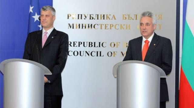 Prime Minister of Kosovo discusses the recognition of Kosovo with the Bulgarian counterpart