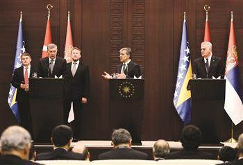 Bosnia, Serbia, Turkey pledge to a better future