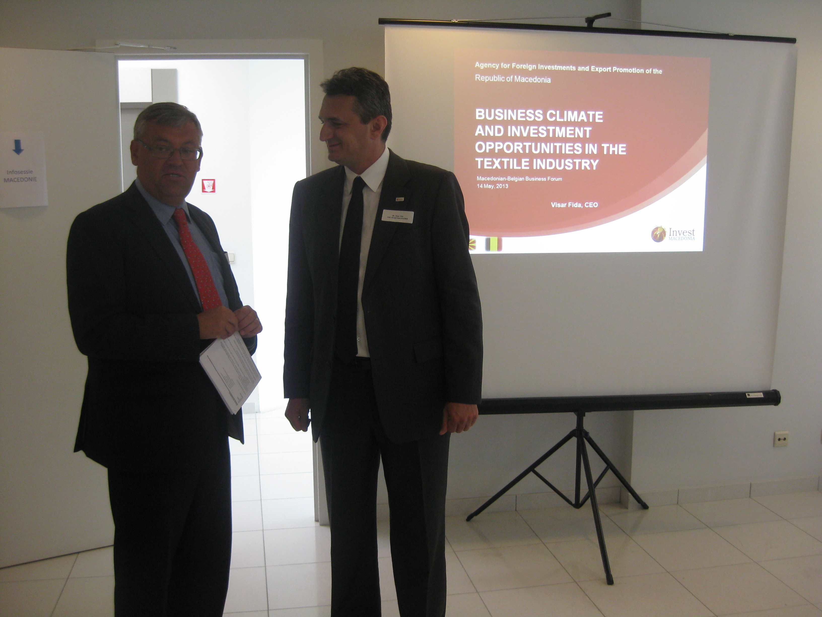 FYROM attracts the interest of Belgian companies