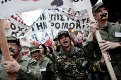 Civil servants strike as teachers forced to work