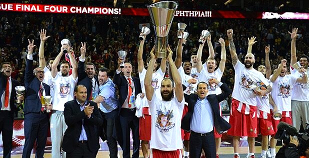 Olympiakos keeps Euroleague in Greek hands for third year