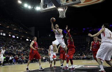 Olympiakos defense stifles CSKA as Reds make Euroleague final