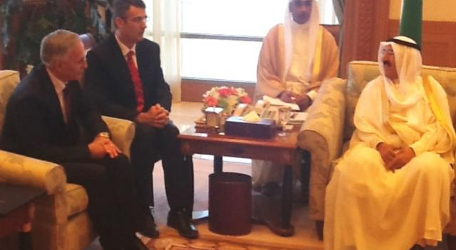 Leaders of Kuwait offer support for Kosovo