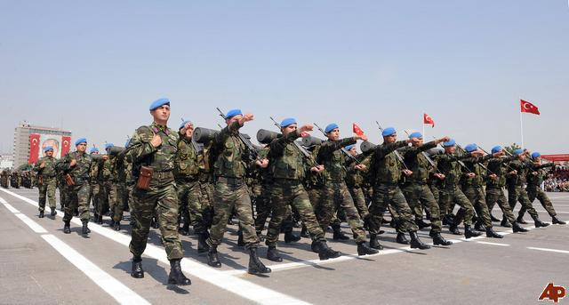 While Turkey is reducing its military service it is growing up its defense industry