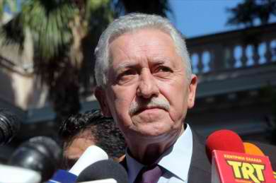 Greek coalition party leader Kouvelis expects cabinet reshuffle in July