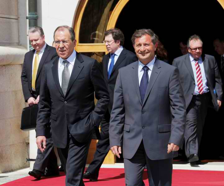 Slovenian, Russian FMs Promotes More Investments