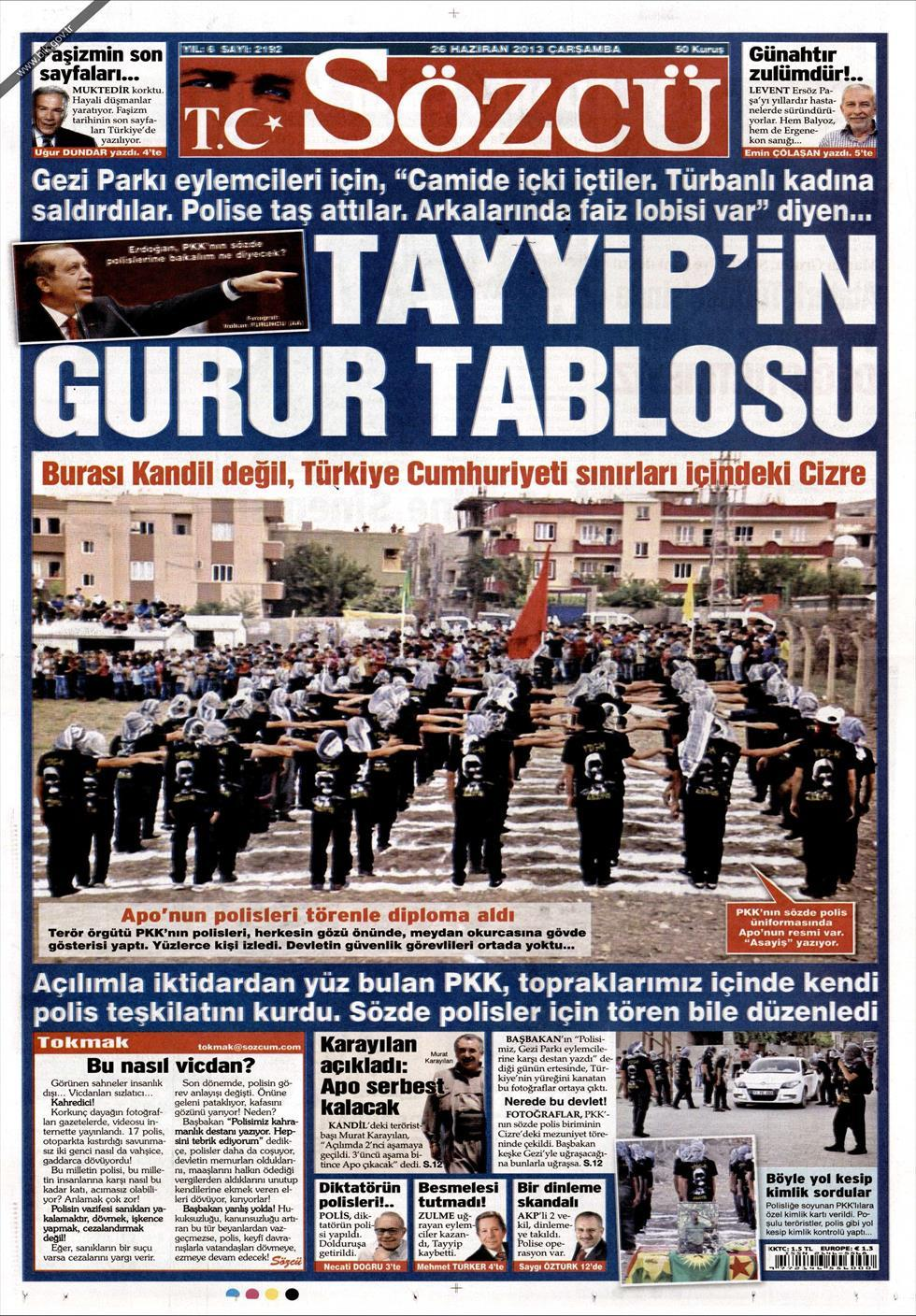 Claims of PKK police force formed in Turkey