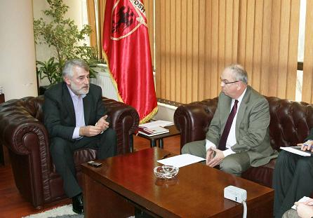 Leader of PDSH with the OSCE ambassador: The government is lying about the European integrations