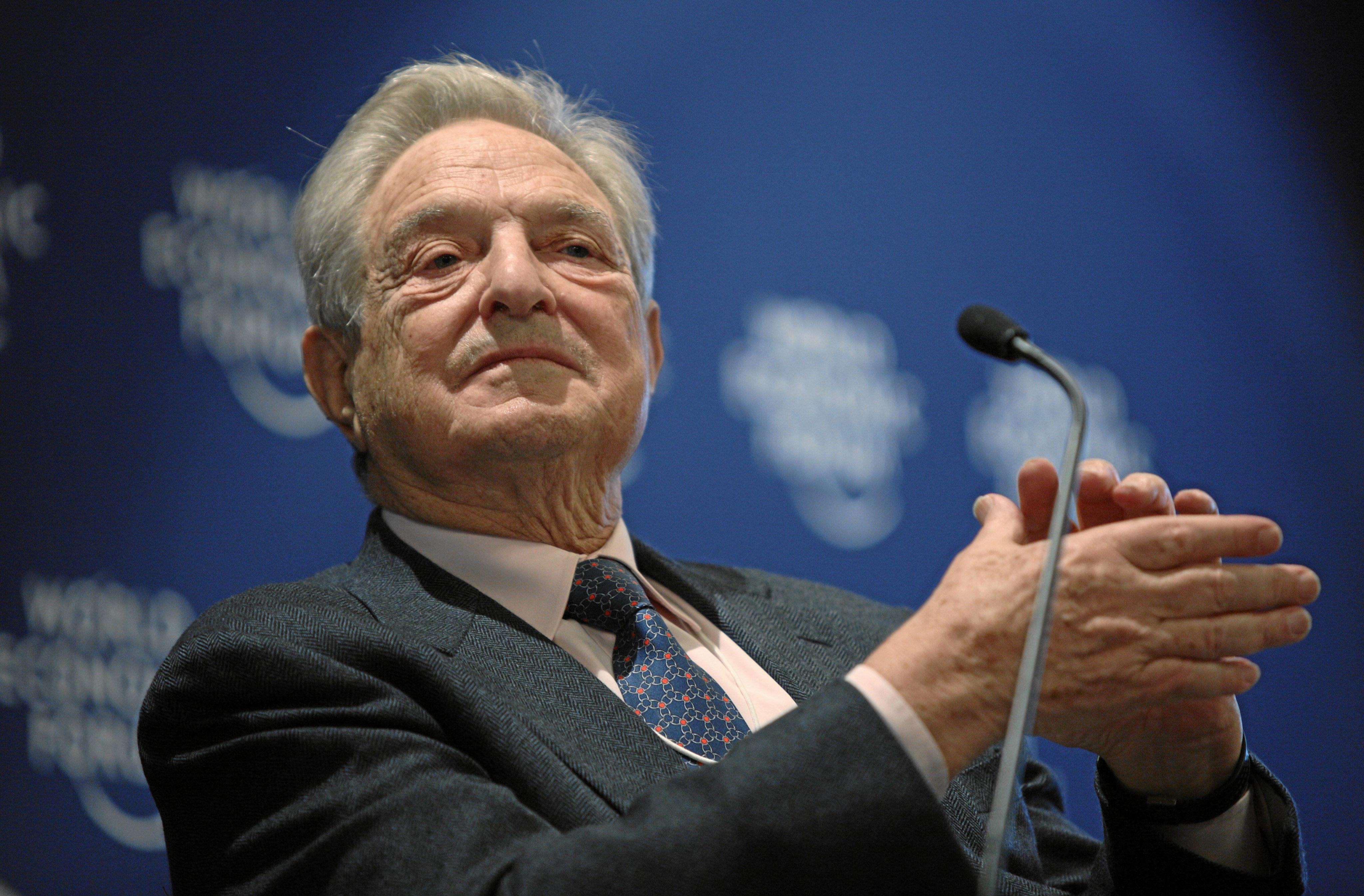 George Soros speaks to Croatian media