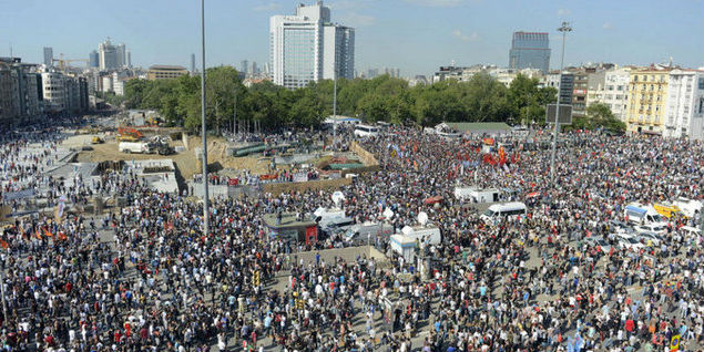 A different Turkey is born after Gezi Park demonstrations