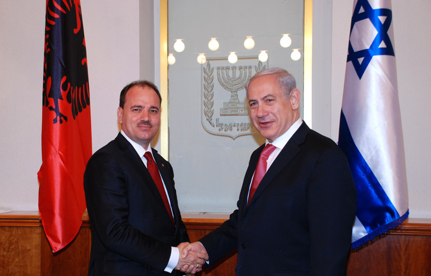 Developments in the Middle East, President Nishani confirms Albanian positioning in favor of Israel