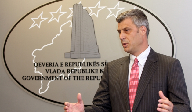 Thaci praises the establishment of liasion offices between Serbia and Kosovo