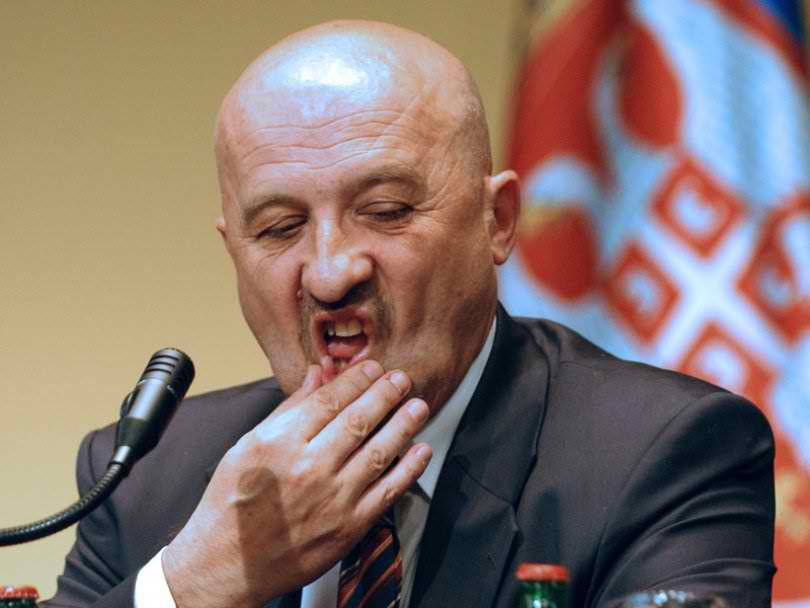 Former Serbian minister under arrest
