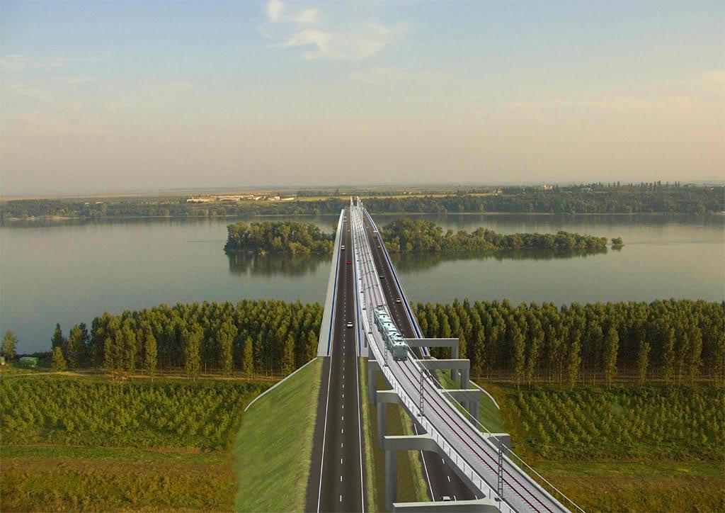 Romania, Bulgaria inaugurate the longest bridge on Danube