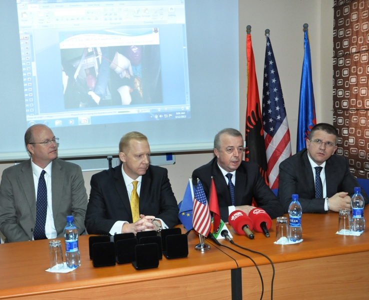 USA say that Albania has boosted border control against traffics