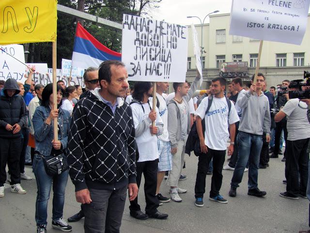 Protest of Banja Luka Students