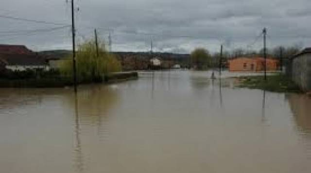 Several towns in Kosovo flooded by the heavy rain