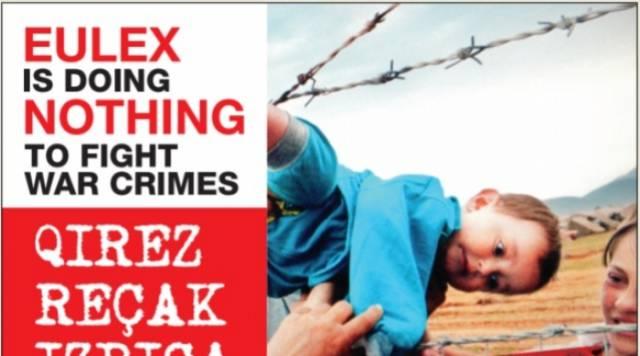 War veteran organizations launch a campaign against EULEX