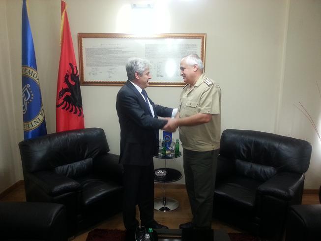 Leader of BDI meets the head of NATO office in Skopje