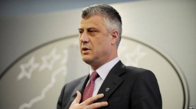 Thaci discusses the Brussels Agreement in Washington