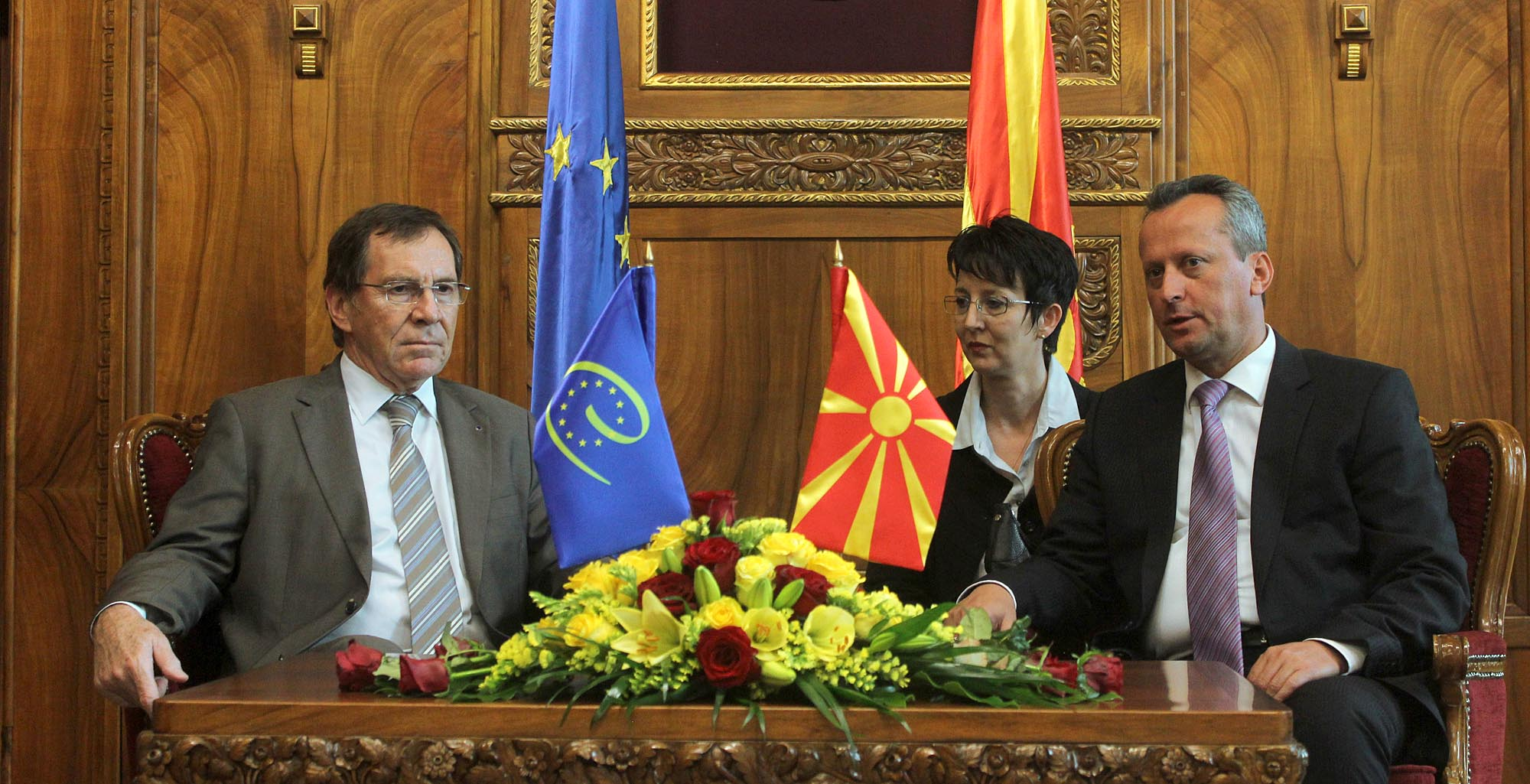 Council of Europe is following the political developments and reforms in FYROM