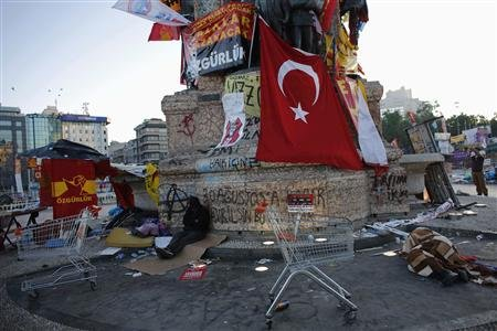 Trouble in Turkey dents AKP poll numbers