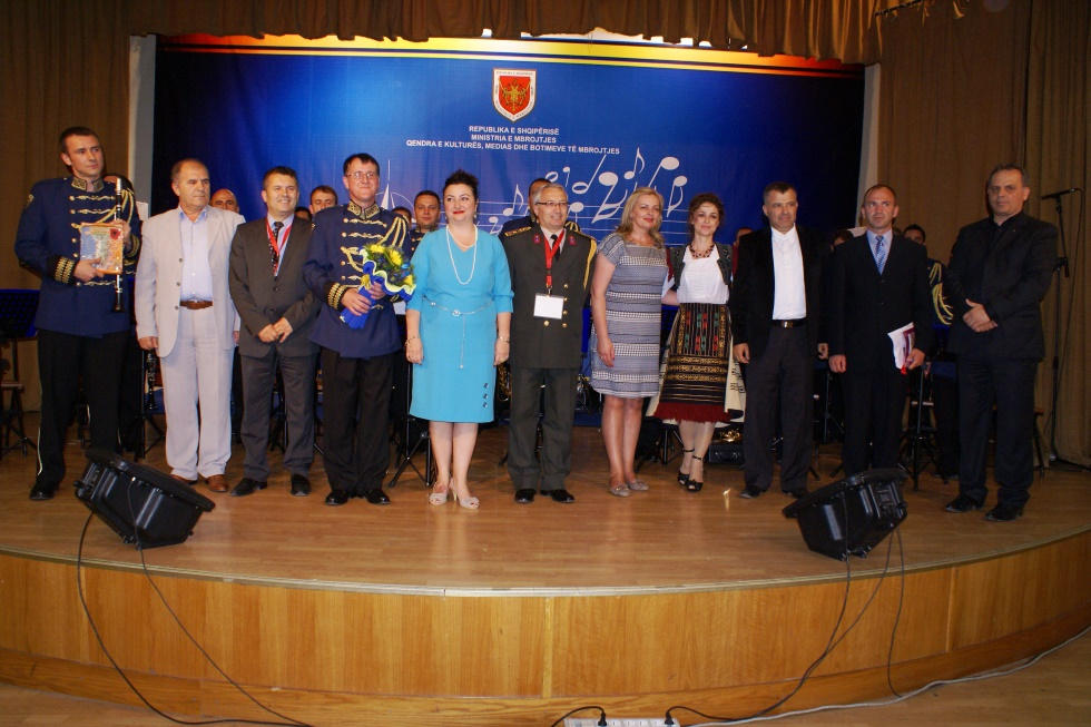 Festival of NATO Military Musical Formations for the Mediterranean countries takes place in Tirana
