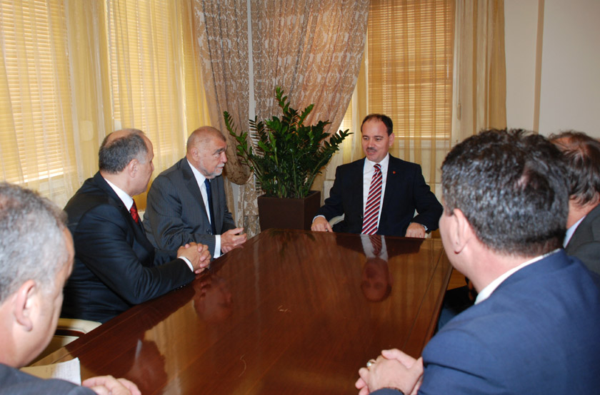President of Albania received the former Presidents of Croatia and Kosova