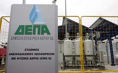 Between Scylla and Charybdis: Energy privatization in Greece