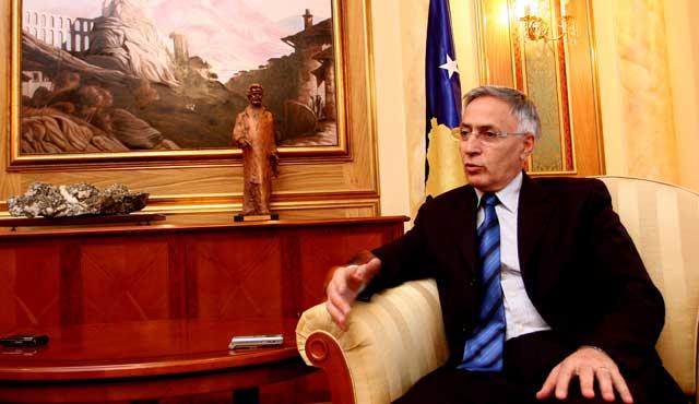 Jakup Krasniqi leaves PDK