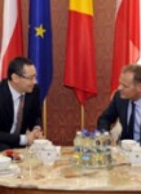 Polish Premier Donald Tusk seeks Ponta's support for European Commission President