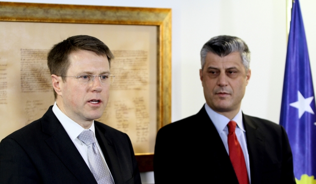 PM Thaçi informs the ambassadors about the agreement
