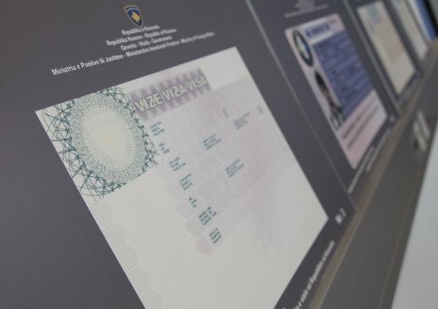 The new visa of the Republic of Kosovo presented in Pristina