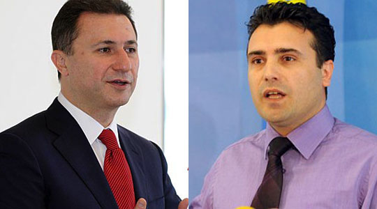 Gruevski invites in a meeting the new leader of the opposition in FYR Macedonia