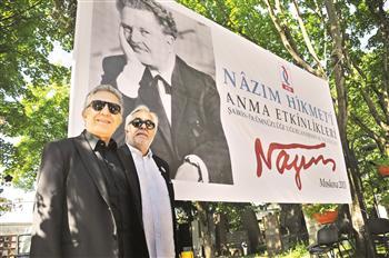 Nazım Hikmet commemorated with ceremony