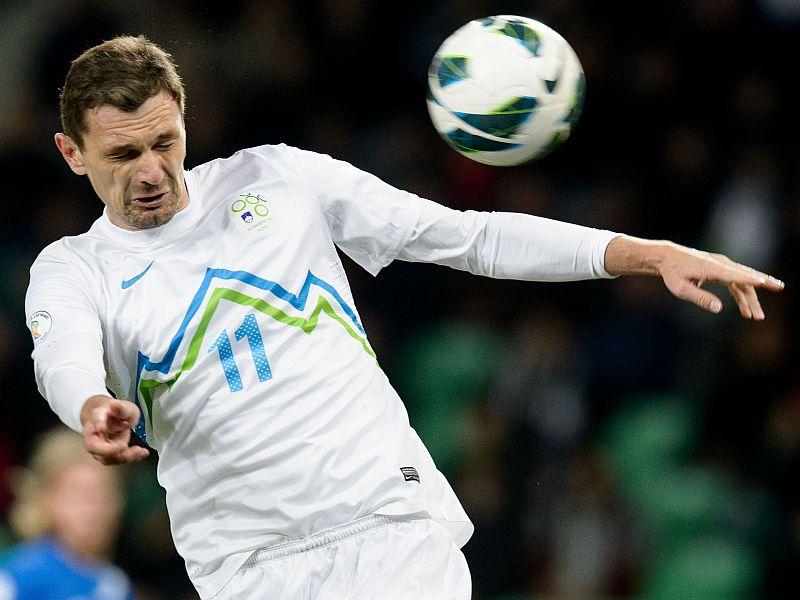 Football: Slovenia Defeat Turkey 2:0