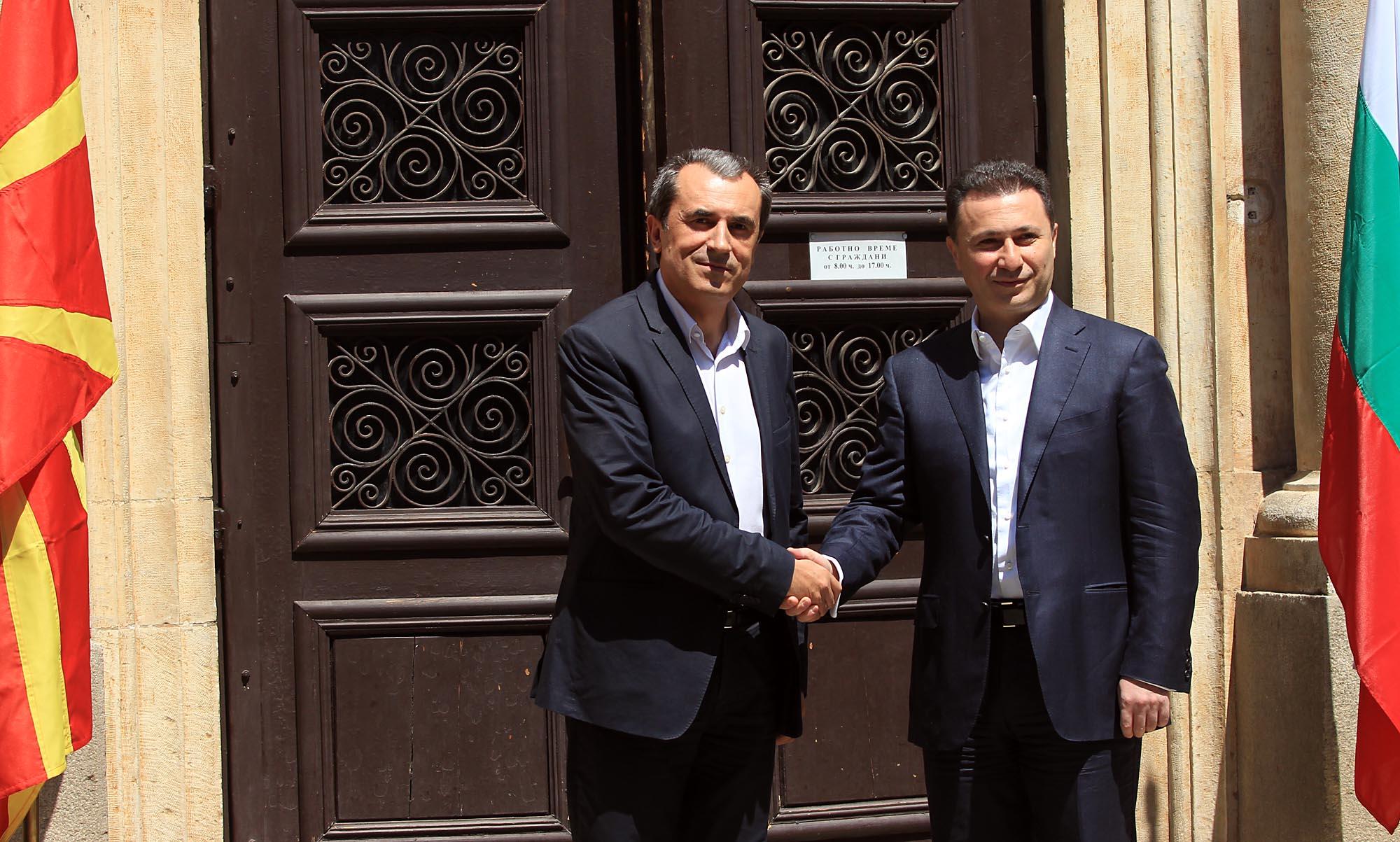 BDI: Gruevski's visit in Bulgaria was informal