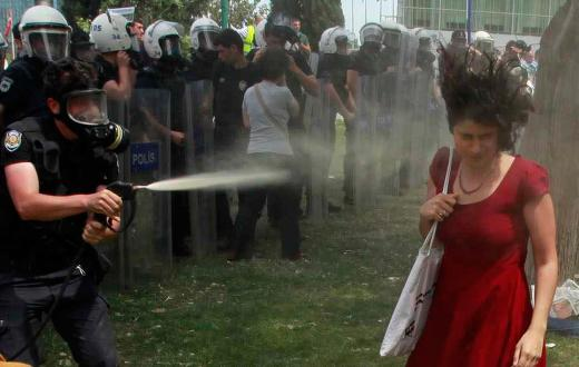 Turkish judge rules tear gas is weapon
