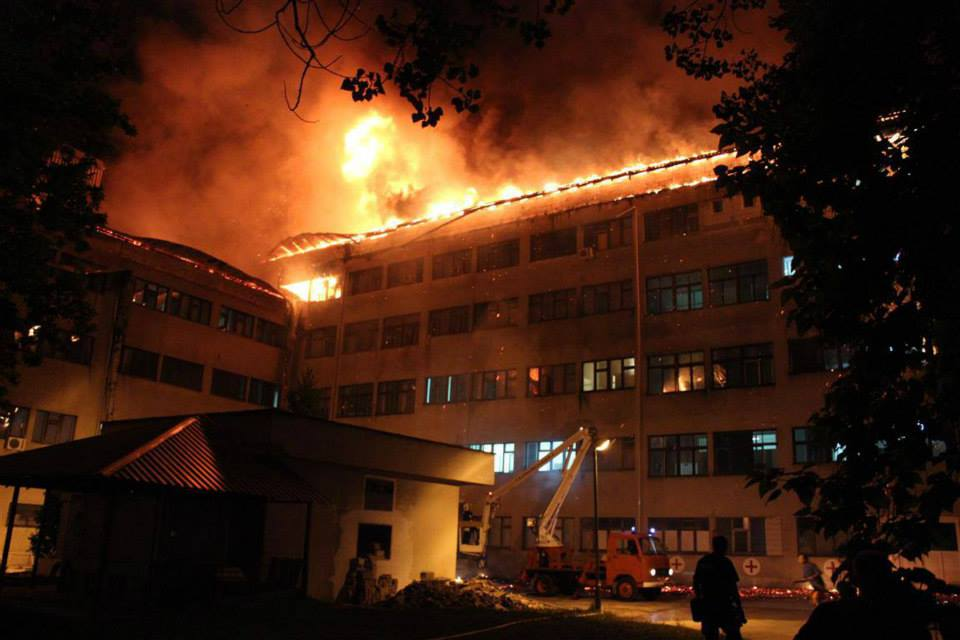 The Government of Una Sana Canton (USC) after the Fire at the Hospital in Bihać Declared the State of Emergency