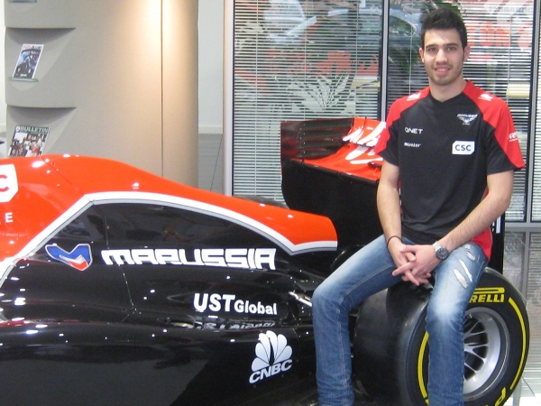 Formula One Cypriot makes history