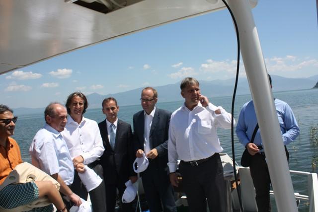 Ships will monitor Prespa Lake