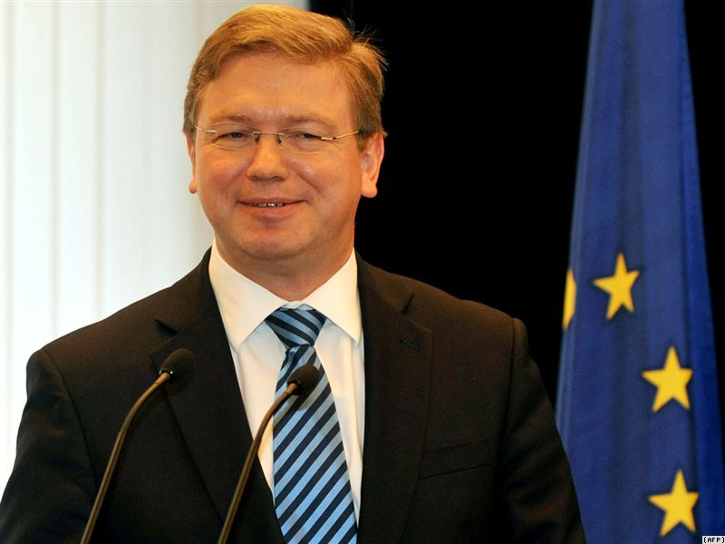 EU enlargement commissioner Fule commends Montenegro